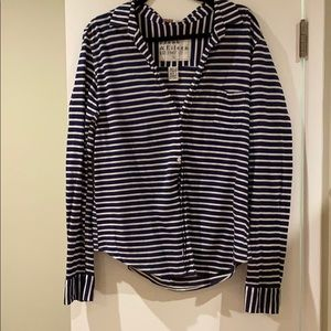 Frank and Eileen Striped Shirt L